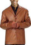 Cheap cardigan style lamb leather blazer