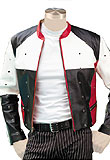 Sporty Leather jacket | Versatile Leather Jacket