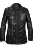 Notch Collar Premium Leather Jacket