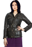 Glistening Premium Leather Jacket