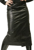 Attractive Pencil Leather Skirt | Womens Leather Skirts