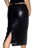 Graceful tight leather skirt | Womens Leather Skirts Online