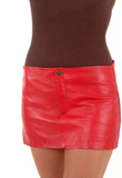 Astonishing Mini Leather Skirt