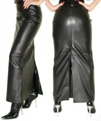 buy impressive leather skirt