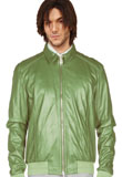 Amazing Dual Shaded Lamb Leather Jacket for St Patricks Day