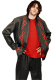 Button Front Valentine's Day Leather Jacket | Mens Valentine Jackets | Leather Jackets Online