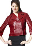 Buy This Double Breasted Womens Leather Jacket