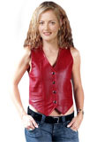 Valentines Day Leather Vest 