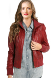 Zipper Opening Valentines Day Leather Jacket|Smashing Leather Jackets