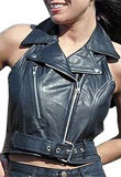 Samanta Leather Vest