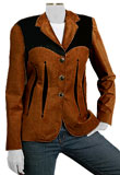 Ricca Womens Corporate Leather Wear