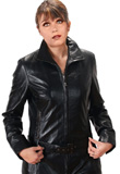 Armhole Princes Cut Leather Jacket