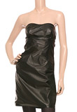 Strapless Easter Leather Dress | Special Occasion Dresses