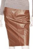 Stylish New Year Leather Skirt for Womens