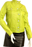 Brand Collar Spring Leather Jacket   Spring Clothing