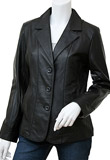 Aesthetically Created Leather Blazer | Thanksgiving Day Gifts