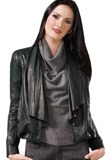 Fascinating Asymmetrical Leather Jacket | Gifts for Thanksgiving Day