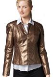 Sensational and Trendy Leather Jacket for Womens Day