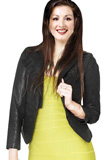 Youth Day Special Leather Jacket   Quarter Sleeved Jacket