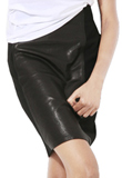 Designer Leather Pencil Skirt | Leather Skirt for Youth Day Special