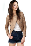 Leather Jacket for Women | International Youth Day Special Jackets