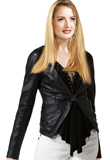 Trendy Leather Jacket for Women | Youth Day 2010 Collection