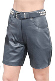 Attractive Womens Leather Shorts