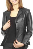 Cheap Italian Leather Blazer