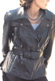 Candid Leather Biker Jackets