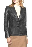 Buy Online Classic Leather Blazer 
