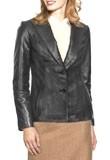 Buy Online Classic Leather Blazer