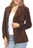 Buy Womens Light Weight Leather Blazer