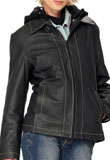Essen Leather Bomber