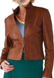 Tavoly Leather Bomber