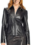 Toujers Leather Bomber