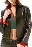 Hunter Leather Bomber