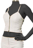 Thin Strap Leather Top and Stylish Leather Pant
