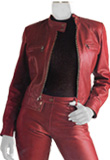 Womens Motorcycle Lamb Leather Jacket