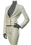 Corporate Wear Leather Suit For Women