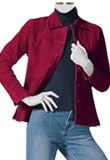 Womens-Leather-Button-Jacket| Lamb-Blazers| Designer-Outfit| Jacket
