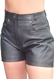 Buy Online Trendy Leather Short