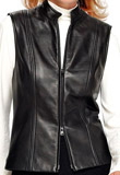 Celeste Leather Vest