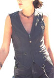 Lauren Leather Vest